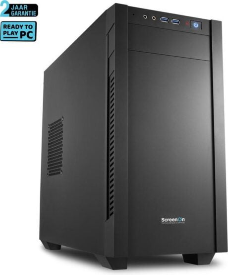 ScreenON - Intel Core i5 - 240GB M.2 SSD - RTX 3060 - Home/OfficePC.Z55041 - WiFi